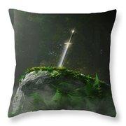 Fate Of A Kingdom Throw Pillow by Melissa Krauss