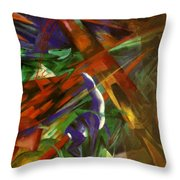 Fate Of The Animals Throw Pillow