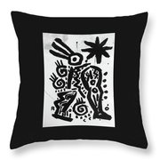 Father And Sons Throw Pillow