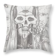 Father Health And Wisdom Throw Pillow