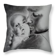 Father N Son Throw Pillow
