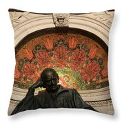 Father Of Homeopathy Throw Pillow