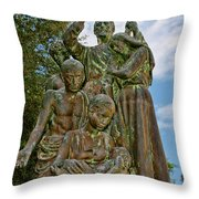 Father Pedro Camps Throw Pillow