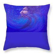 Father Time Throw Pillow