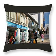 Fatima-1 Throw Pillow