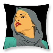 Fatima Throw Pillow