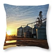 Faulkner Elevator Throw Pillow