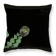 Faulse Flower Fire  Throw Pillow