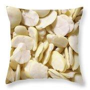 Fava Beans Throw Pillow