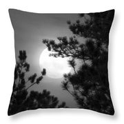 Favorite Full Moon Throw Pillow