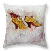 Favorite Shoes Throw Pillow