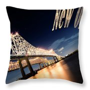 Favorite Spot In The City Throw Pillow