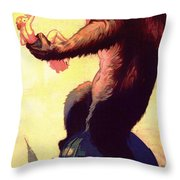 Fay Wray In King Kong 1933 Throw Pillow
