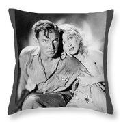 Fay Wray King Kong 1933 Throw Pillow