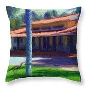 Farm Main House 1 Throw Pillow