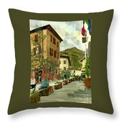 Fdr Piazza Regello Throw Pillow