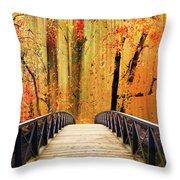 Forest Fantasia Throw Pillow