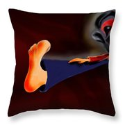 Fear Dream Throw Pillow