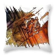 Fear Earthy Rainbow 3 Dimensional Throw Pillow