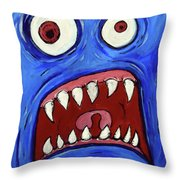Fear-potentiated Startle Throw Pillow
