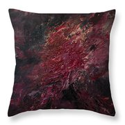 Fear Series, IIi Throw Pillow by Daniel Hannih