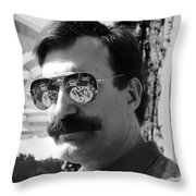 Feast For The Eyes Throw Pillow by Madeline Ellis