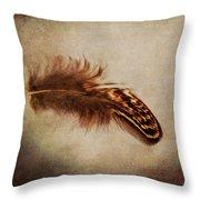 Feather 4 Throw Pillow