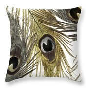 Feather Fashion Throw Pillow