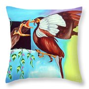Feather Touch Throw Pillow