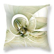 Feather Your Nest Throw Pillow