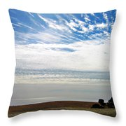 Featherclouds Throw Pillow