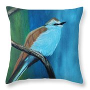 Feathered Friends Second In Series Throw Pillow