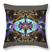Feathered Nature Throw Pillow