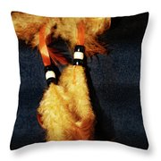 Feathers Of A Dreamcatcher Throw Pillow