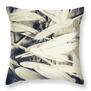 Feathers Of Freedom And The Statue Of Liberty Throw Pillow