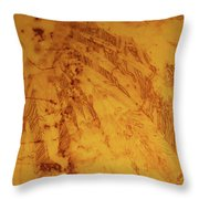Feathers On The Wind Throw Pillow