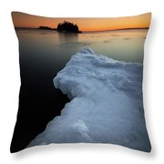 February Thaw  Throw Pillow