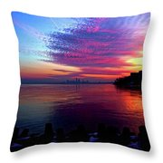 February's New Hope Throw Pillow