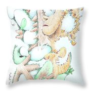 Fecundity Throw Pillow