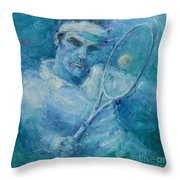 Fed Throw Pillow