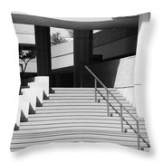 Federal Stairs Throw Pillow