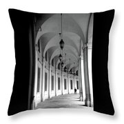 Federal Triangle Throw Pillow