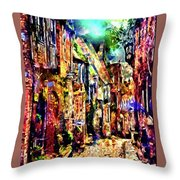 Federation Planet Yesteryear Throw Pillow