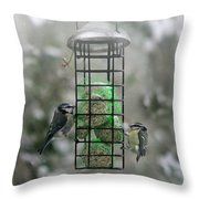 Feed The Hunger Throw Pillow