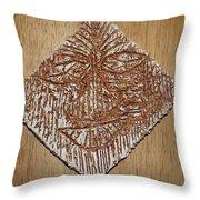 Feel - Tile Throw Pillow