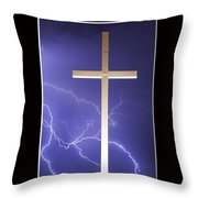 Feel The Power Throw Pillow