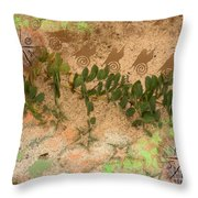 Feel The Pull Throw Pillow
