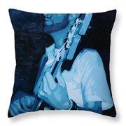Feelin' The Bass Throw Pillow