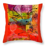 Feeling Alone And Invisible Throw Pillow