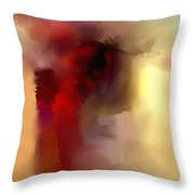 Feeling In Painting Throw Pillow